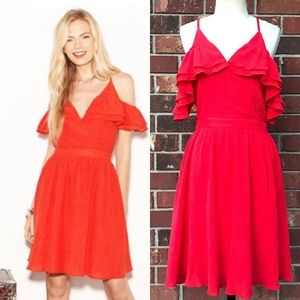CHLOE OLIVER Uptown Ruffle Dress